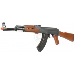 CYMA CM028 Airsoft AK47 Full Metal Gearbox AEG Rifle w/ Full Stock
