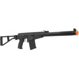 AY Airsoft Metal AS-VAL Silenced AEG with Folding Stock - BLACK