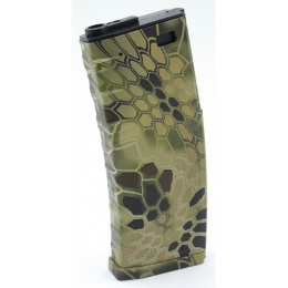DYTAC Airsoft Water Transfer Invader 120rd Mid-Cap M4/M16 Magazine-KH