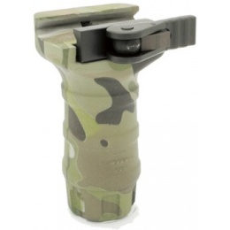 DYTAC Airsoft Short Nylon Water Transfer TD Foregrip for 20mm Rails