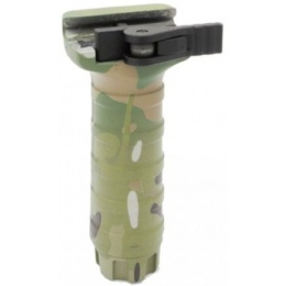 DYTAC Airsoft long Nylon Water Transfer TD Foregrip for 20mm Rails