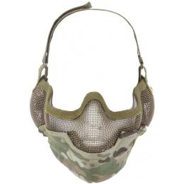 TMC Airsoft V2 Strike Protective Metal Mesh 3D Cutting Mask