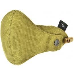 TMC Airsoft Cordura Half Face Mask Accessory - KHAKI