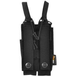TMC Airsoft MOLLE Double Open Top MP7 Magazine Pouch
