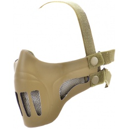 TMC Airsoft Ghost Recon Style Metal Mesh Half Face Mask