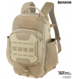 Maxpedition Lithvore Advanced Gear Research Tactical Backpack - TAN