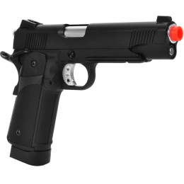 KJW Airsoft M1911 KP-05 Hi-Capa CO2 Full Metal GBB Pistol - BLACK