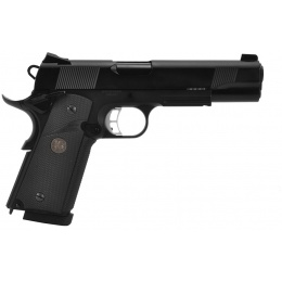KJW Airsoft M1911 Airsoft Pistol Full Metal Gas Blowback Series - BLACK