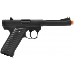 KJW MK2 CO2 NBB Airsoft Pistol w/ Optical Fiber Front Sight - BLACK
