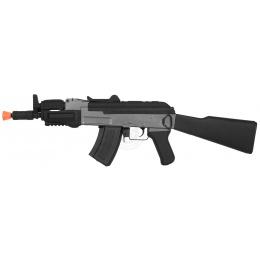 CYMA Full Metal Gearbox AK47 Spetsnaz Tactical Assault AEG Rifle
