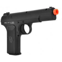 KWC Airsoft TT-33 Tokarev Gas NBB Series Metal AEG Pistol - BLACK