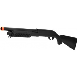 CYMA Airsoft M500 Shotgun Tri-Shot CM350 w/ Short Barrel - Full Stock