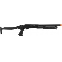 CYMA Airsoft Shotgun Short Barrel CM352 Tri-Burst w/ Folding Stock