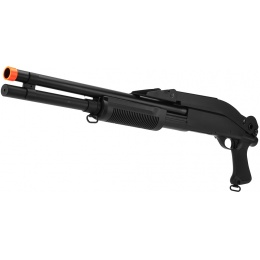CYMA Airsoft Shotgun Long Barrel CM352 Tri-Burst w/ Folding Stock