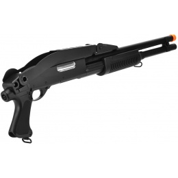 CYMA Airsoft Shotgun Long Barrel CM352 Tri-Burst w/ Folding Stock
