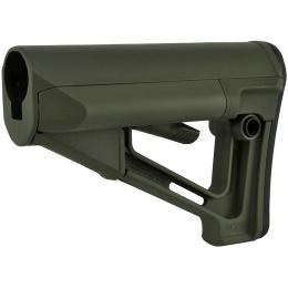 Magpul STR Adjustable Carbine Stock w/ QD Sling Mount - OD GREEN