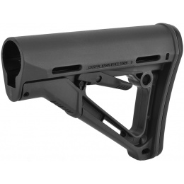 Magpul CTR Adjustable Carbine Stock w/ QD Sling Mount - GRAY