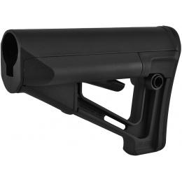 Magpul STR Adjustable Carbine Stock w/ QD Sling Mount - BLACK