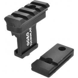 Element Offset Rail For Laser/Flashlight Accessories - Black