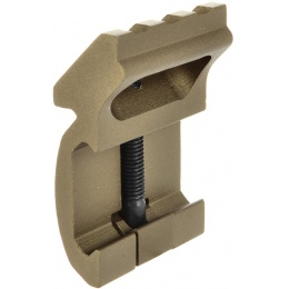 Element Gear Sector Type SF X-series 20mm Offset Rail Mount - TAN