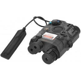 Element EX276 Airsoft PEQ 15 Flashlight Red Laser IR Device - BLACK