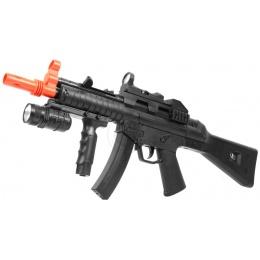 CYMA Airsoft Mod. 5 Spring Rifle w/ Forward Grip and Flashlight