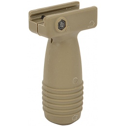 Element Airsoft Tactical Compact Stubby CQB Vertical Foregrip - TAN