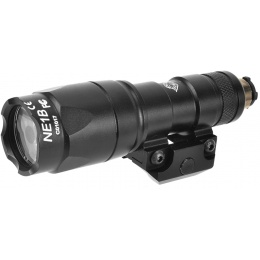 Night-Evolution Mini Scout Tactical LED Flashlight  - Black