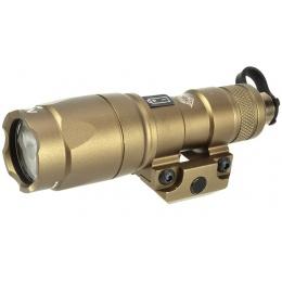 Night-Evolution Mini Scout Tactical LED Flashlight  - Tan