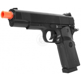 CYMA Airsoft Ultra-Grade Full Size M1911 Pistol w/ Railed Frame
