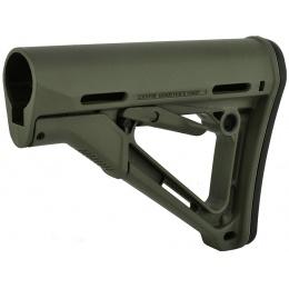 Magpul CTR Adjustable Carbine Stock w/ QD Sling Mount - OD GREEN