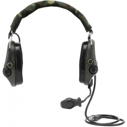 Z-Tactical zTEA Hi-Threat Tier 1 Headset w/ Mic - Woodland