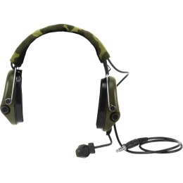 Z-Tactical Airsoft Z111 Sordin Tactical Headset - FOLIAGE