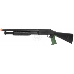 CYMA M3 Pump Action Airsoft Shotgun w/ FREE Compact Airsoft Pistol
