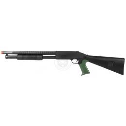 CYMA M3 Pump Action Airsoft Shotgun w/ FREE Compact Airsoft Pistol