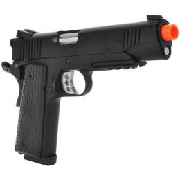 ARMY Airsoft Full Metal R28 M1911 Warrior .45 GBB Pistol - Black