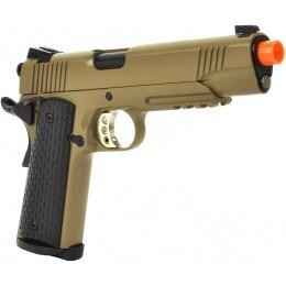 ARMY Airsoft Full Metal R28 M1911 Warrior .45 GBB Pistol - Tan