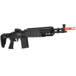JG Airsoft M14 AEG Tactical EBR Full Metal Rifle Crane Stock - BLACK