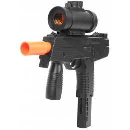Airsoft Deltaforce KSR Full Size SMG with Electronic Red Dot Scope