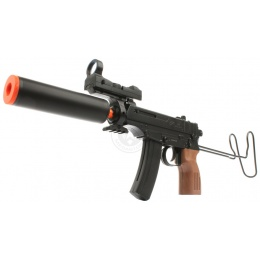 DE Deltaforce Tactical VZ-61 Full Skorpion Airsoft Spring SMG