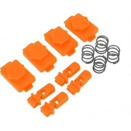 Hexmag Airsoft HexID Hexgon Latchplates Followers - ORANGE