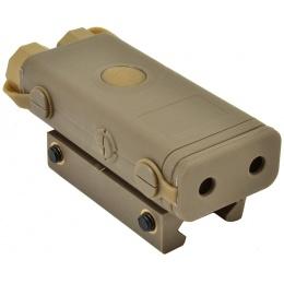 Bravo PEQ-10 Flashlight and Red Laser Combo P10 Box - DARK EARTH