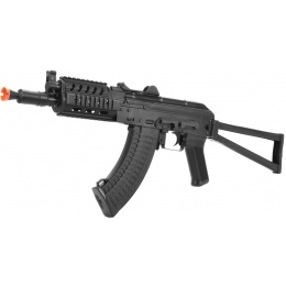 LCT Airsoft AK74 Assault Rifle AEG w/ TX Railed Handguard - Black