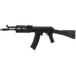 LCT Airsoft AK-102 Assault Rifle AEG w/ Folding Stock - BLACK