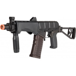 LCT Airsoft SR-3M Vikhr Assault Rifle AEG w/ Foldable Foregrip - BLK