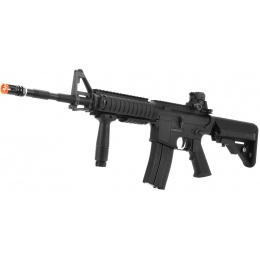 LCT Airsoft RAS M4 EBB Carbine Assault Rifle - BLACK