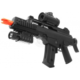 DE Airsoft R36-CQB Compact Rifle Package w/ Flashlight and Scope