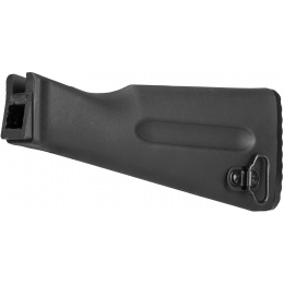 LCT Airsoft AK Series AEG Plastic Fixed Stock - BLACK
