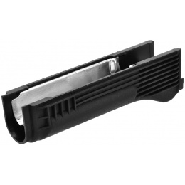 LCT Airsoft AK Series AEG Plastic Lower Handguard - BLACK