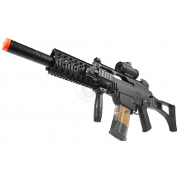 DE R36 Full Size Spring Airsoft Rifle Package w/ Tactical Accessories